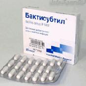 Препарат (лекарство): Бактисубтил на сайте Фармацевтическая Web-энциклопедия