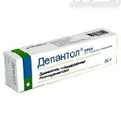 Препарат (лекарство): Депантол крем 30 г на сайте Фармацевтическая Web-энциклопедия