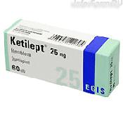 Препарат (лекарство): Кетилепт на сайте Фармацевтическая Web-энциклопедия