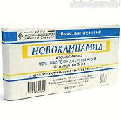 Препарат (лекарство): Новокаинамид на сайте Фармацевтическая Web-энциклопедия