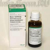 Препарат (лекарство): Нукс вомика-гомаккорд на сайте Фармацевтическая Web-энциклопедия