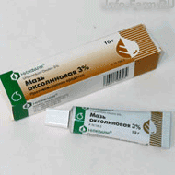 Препарат (лекарство): Оксолин мазь на сайте Фармацевтическая Web-энциклопедия
