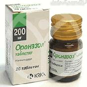 Препарат (лекарство): Ороназол на сайте Фармацевтическая Web-энциклопедия