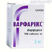 Препарат (лекарство): Варфарекс на сайте Фармацевтическая Web-энциклопедия