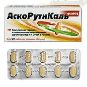 Препарат (лекарство): Аскорутикаль форте на сайте Фармацевтическая Web-энциклопедия