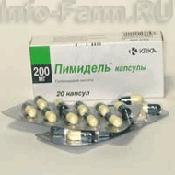 Препарат (лекарство): Пимидель на сайте Фармацевтическая Web-энциклопедия