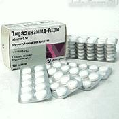 Препарат (лекарство): Пиразинамид-акри на сайте Фармацевтическая Web-энциклопедия