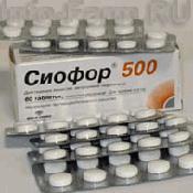 Препарат (лекарство): Сиофор 500 на сайте Фармацевтическая Web-энциклопедия