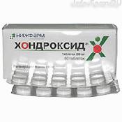 Препарат (лекарство): Хондроксид на сайте Фармацевтическая Web-энциклопедия