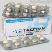 Препарат (лекарство): Таденан на сайте Фармацевтическая Web-энциклопедия