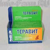 Препарат (лекарство): Тера витамин на сайте Фармацевтическая Web-энциклопедия