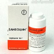 Препарат (лекарство): Банеоцин на сайте Фармацевтическая Web-энциклопедия