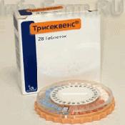 Препарат (лекарство): Трисеквенс на сайте Фармацевтическая Web-энциклопедия