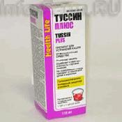 Препарат (лекарство): Туссин плюс на сайте Фармацевтическая Web-энциклопедия