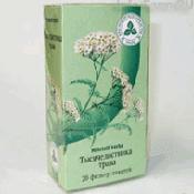 Препарат (лекарство): Тысячелистник трава на сайте Фармацевтическая Web-энциклопедия