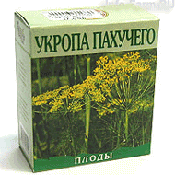 Препарат (лекарство): Укроп пахучий плоды на сайте Фармацевтическая Web-энциклопедия