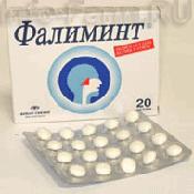 Препарат (лекарство): Фалиминт на сайте Фармацевтическая Web-энциклопедия