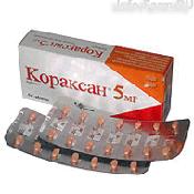 Препарат (лекарство): Кораксан на сайте Фармацевтическая Web-энциклопедия
