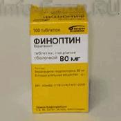 Препарат (лекарство): Финоптин на сайте Фармацевтическая Web-энциклопедия