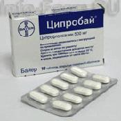 Препарат (лекарство): Ципробай на сайте Фармацевтическая Web-энциклопедия
