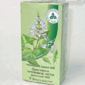Препарат (лекарство): Почечный чай ортосифон тычиночный на сайте Фармацевтическая Web-энциклопедия