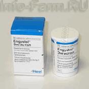 Препарат (лекарство): Энгистол на сайте Фармацевтическая Web-энциклопедия
