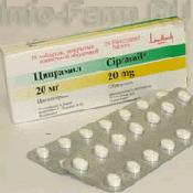 Препарат (лекарство): Ципрамил на сайте Фармацевтическая Web-энциклопедия