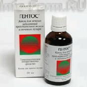 Препарат (лекарство): Гентос на сайте Фармацевтическая Web-энциклопедия