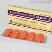 Препарат (лекарство): Ципрофлоксацин на сайте Фармацевтическая Web-энциклопедия