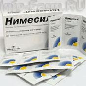Препарат (лекарство): Нимесил на сайте Фармацевтическая Web-энциклопедия
