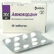 Препарат (лекарство): Амиокордин на сайте Фармацевтическая Web-энциклопедия