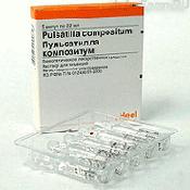 Препарат (лекарство): Пульсатилла композитум на сайте Фармацевтическая Web-энциклопедия