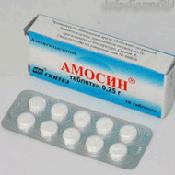 Препарат (лекарство): Амосин на сайте Фармацевтическая Web-энциклопедия