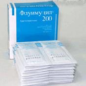 Препарат (лекарство): Флуимуцил на сайте Фармацевтическая Web-энциклопедия