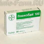 Препарат (лекарство): Глюкобай на сайте Фармацевтическая Web-энциклопедия