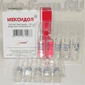 Препарат (лекарство): Мексидол на сайте Фармацевтическая Web-энциклопедия