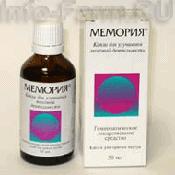 Препарат (лекарство): Мемория на сайте Фармацевтическая Web-энциклопедия