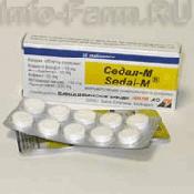 Препарат (лекарство): Седал-м на сайте Фармацевтическая Web-энциклопедия
