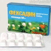 Препарат (лекарство): Фексадин на сайте Фармацевтическая Web-энциклопедия