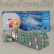 Препарат (лекарство): Флуоксетин на сайте Фармацевтическая Web-энциклопедия