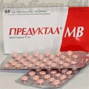 Препарат (лекарство): Предуктал мв на сайте Фармацевтическая Web-энциклопедия