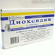Препарат (лекарство): Диоксидин на сайте Фармацевтическая Web-энциклопедия