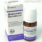 Препарат (лекарство): Дисменорм на сайте Фармацевтическая Web-энциклопедия