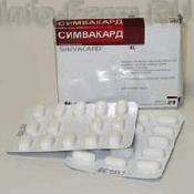 Препарат (лекарство): Симвакард на сайте Фармацевтическая Web-энциклопедия