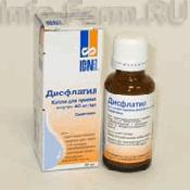 Препарат (лекарство): Дисфлатил на сайте Фармацевтическая Web-энциклопедия