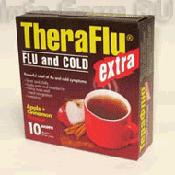 Препарат (лекарство): Терафлю экстра от гриппа и простуды на сайте Фармацевтическая Web-энциклопедия