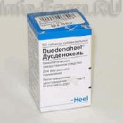 Препарат (лекарство): Дуоденохель на сайте Фармацевтическая Web-энциклопедия