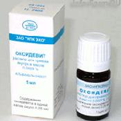 Препарат (лекарство): Оксиде витамин на сайте Фармацевтическая Web-энциклопедия