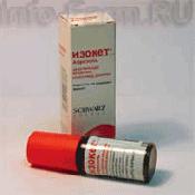 Препарат (лекарство): Изокет на сайте Фармацевтическая Web-энциклопедия