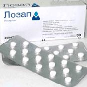 Препарат (лекарство): Лозап на сайте Фармацевтическая Web-энциклопедия